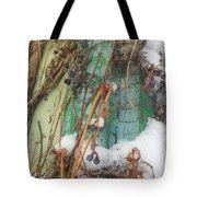 Snow Vines Tote Bag