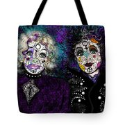Snow White Rose Red II Tote Bag