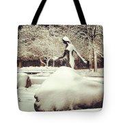 Snow Woman Tote Bag