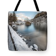 Snowcapped Tote Bag