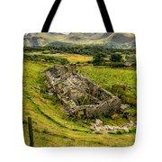 Snowdon Ruin Tote Bag