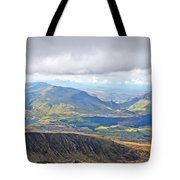 Snowdonian Thunderstorm Tote Bag