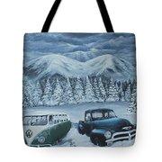 Snowed In Tote Bag