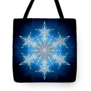Snowflake - 2012 - A Tote Bag by Richard Barnes