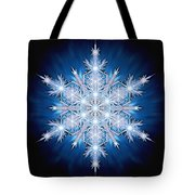 Snowflake - 2013 - A Tote Bag by Richard Barnes