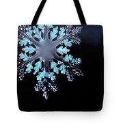 Snowflake In Window 20471 Tote Bag