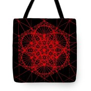 Snowflake Shape Comes From Frequency And Mass Tote Bag