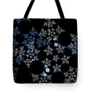 Snowflakes By Jammer Tote Bag