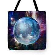 Snowglobular Tote Bag