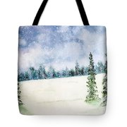 Snowing In Christmas Tote Bag