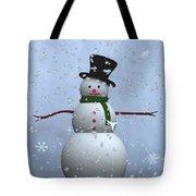 Snowman... Tote Bag