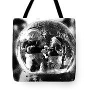 Snowmen Globe Tote Bag