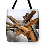 Winter Laundry Day Tote Bag