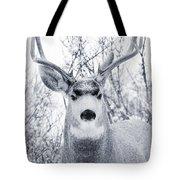 Snowstorm Deer Tote Bag