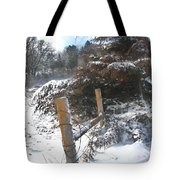 Snowstorm The Day After Tote Bag