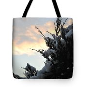 Snowvember Sunrise Tote Bag