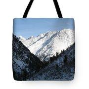 Snowwhite Mountain Top Tote Bag