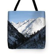 Snowwhite Mountain Top Tote Bag