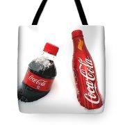 Snowy Coca - Cola Tote Bag