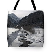 Snowy Creek Tote Bag