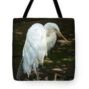 Snowy Egret 2 Tote Bag
