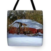 Snowy Fastback Tote Bag
