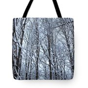 Snowy Forest Tote Bag
