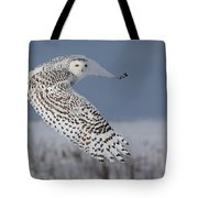 Snowy In Action Tote Bag