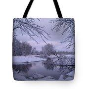 Snowy River Bend Tote Bag