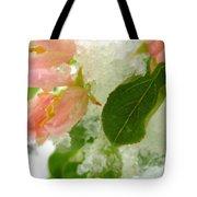 Snowy Spring 1 - Digital Painting Effect Tote Bag