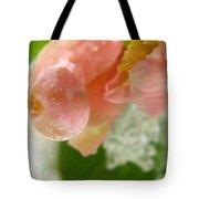 Snowy Spring 2 - Digital Painting Effect Tote Bag