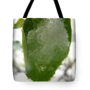 Snowy Spring 4 - Digital Painting Effect Tote Bag