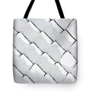 Snowy Wire Netting Tote Bag