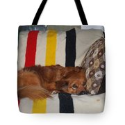 Snuggle Time Tote Bag