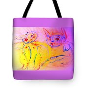 A Long Time Ago We Were So Incredibly Happy Together Tote Bag