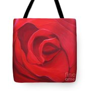 So Red The Rose Tote Bag by Hunter Jay
