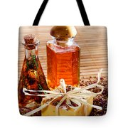 Soap And Fragrance Oils Tote Bag