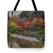 Soaring Fall Colors In The Arboretum Tote Bag