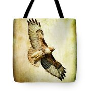 Soaring Hawk Tote Bag