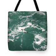 Soaring Over The Falls Waters Tote Bag