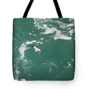 Soaring Over The Falls Waters Too Tote Bag