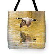 Soaring Over The River Tote Bag