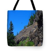 Soaring The Heights Tote Bag