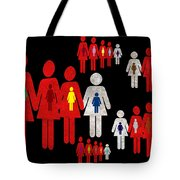 Social Responsibility 1 Part 3 Tote Bag by Angelina Vick