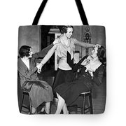 Society Women In Benefit Play Tote Bag