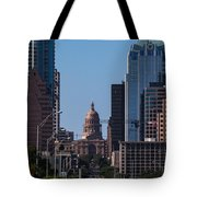 So Co View Of The Texas Capitol Tote Bag