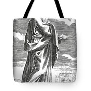 Socrates, Ancient Greek Philosopher Tote Bag