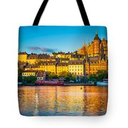 Sodermalm Skyline Tote Bag