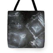 Sodium Hydroxide Crystals Tote Bag