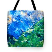 Sodium Thiosulphate Microcrystals Colorful Art Tote Bag